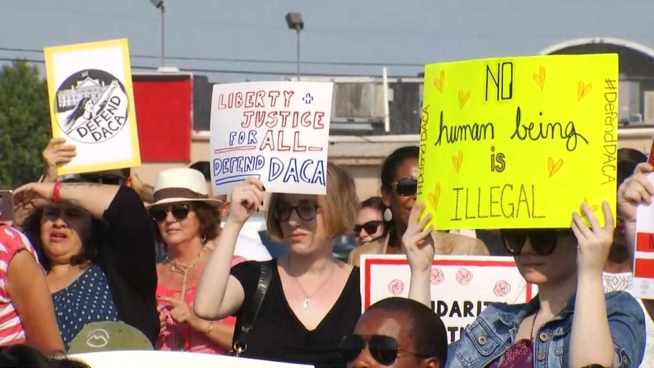 Tulsans Hold DACA Demonstration