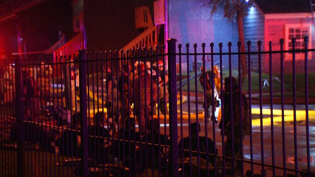 Mother Grieves Loss Of 13-Month-Old Son To Tulsa Fire