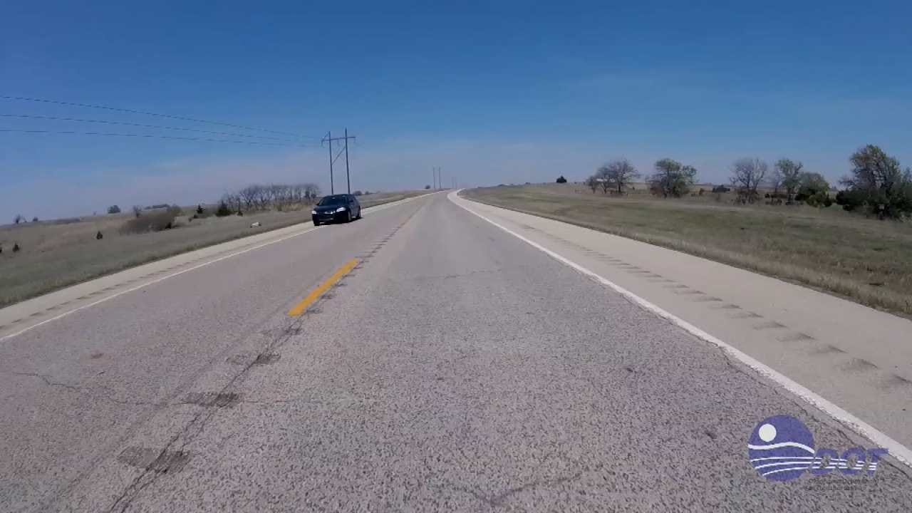 ODOT Installing 'Rumble Strips' On Highways' Center Lines