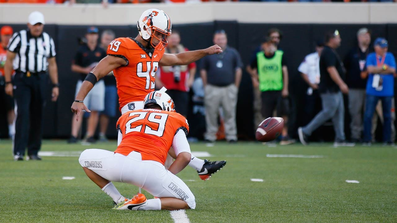 OSU's Ammendola Earns Big 12 Special Teams Player Of The Week