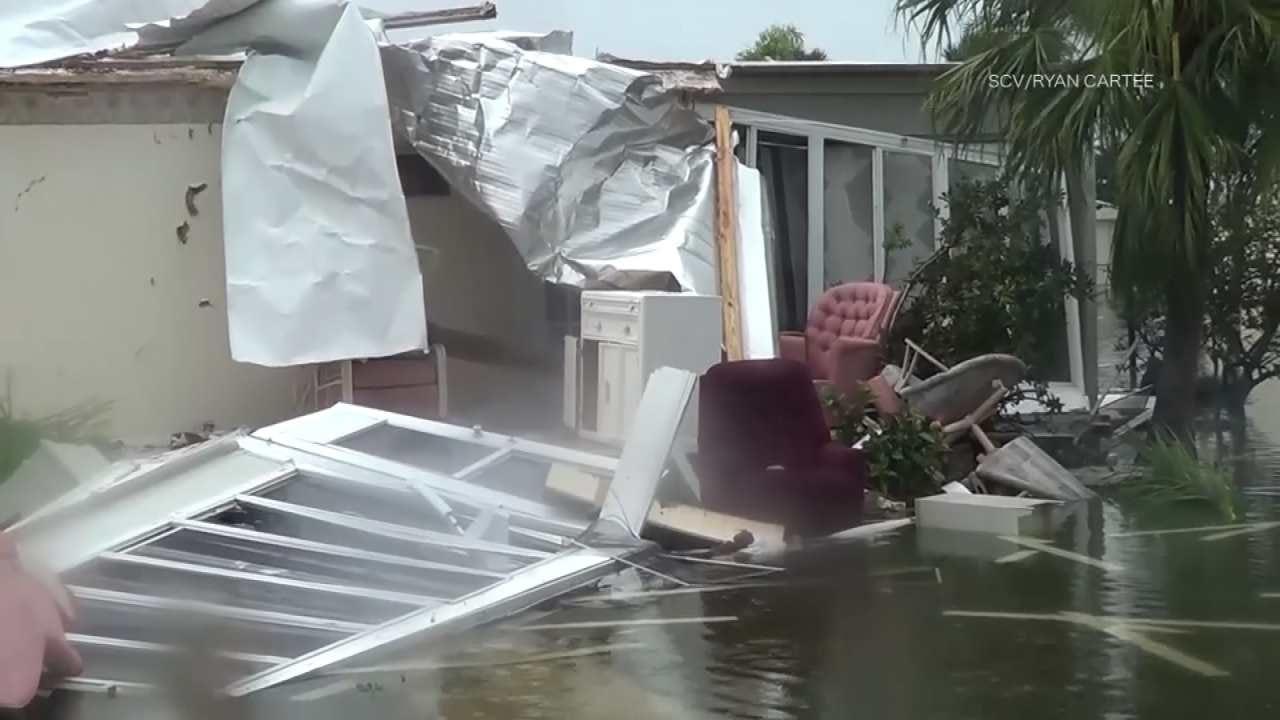 Weakened Hurricane Irma Takes Aim At Tampa