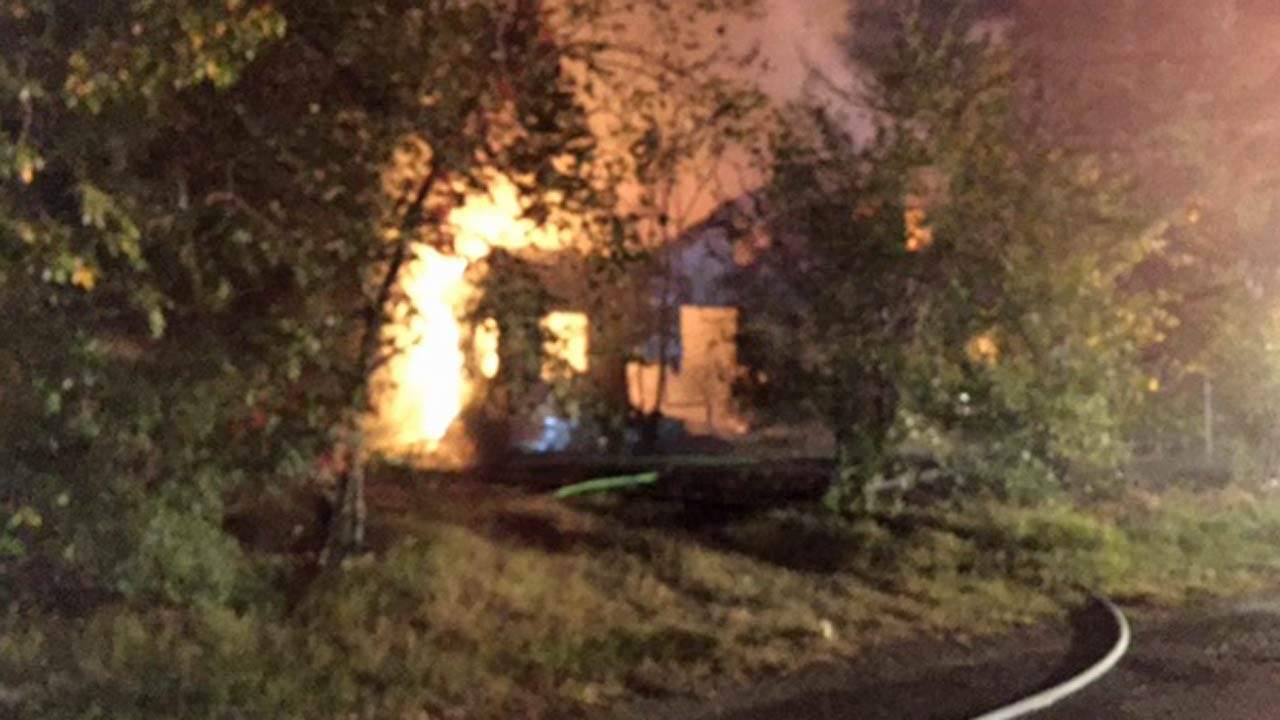 Oakhurst Home West of Tulsa Destroyed In A Suspicious Fire