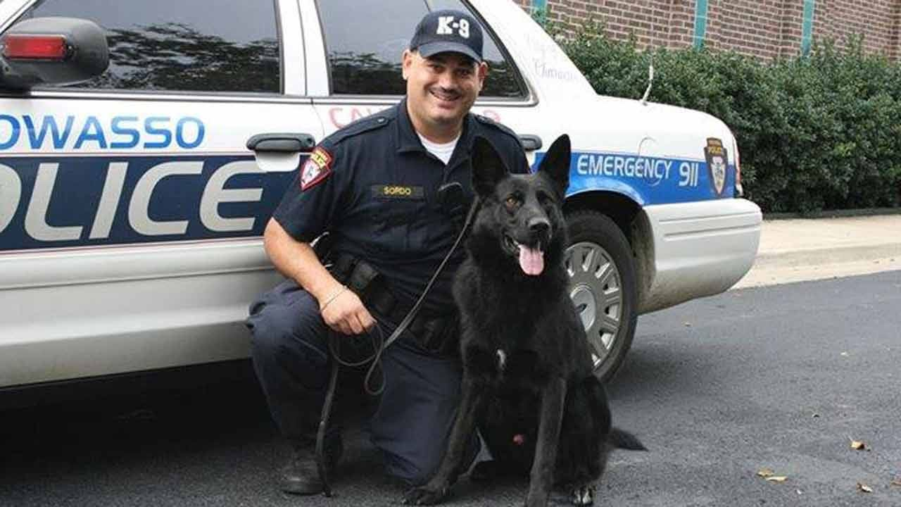 Owasso Police To Honor Late K-9 Officer