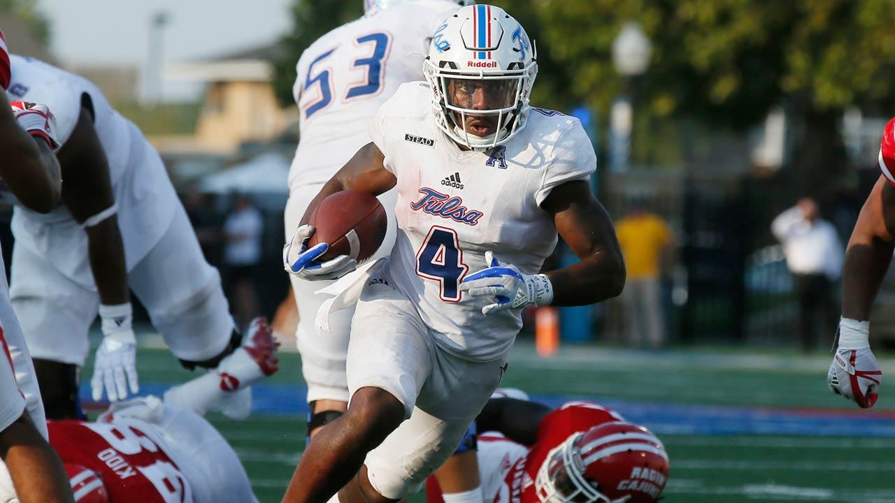 TU Football: The Evolution Of D'Angelo Brewer