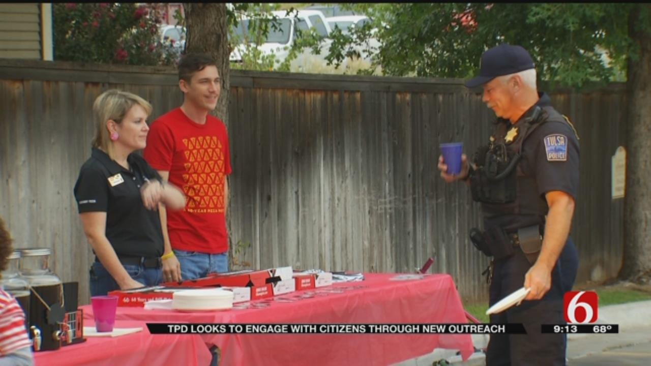 Tulsa Police Liaison Works To Better Community