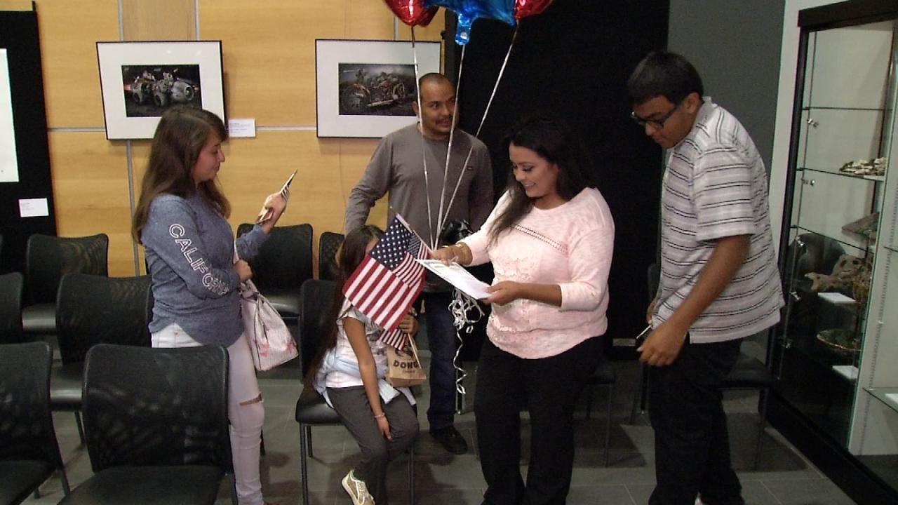 31 Become U.S. Citizens In Naturalization Ceremony