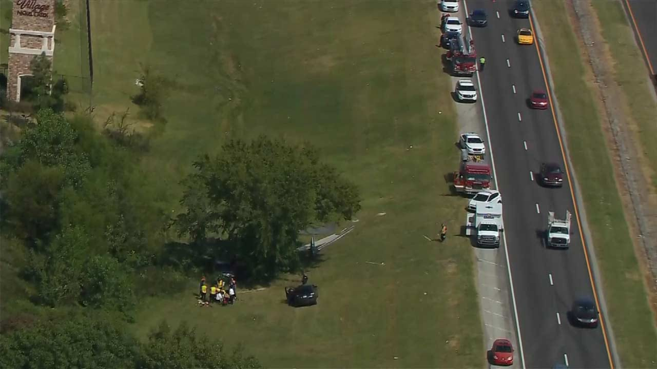 Driver Killed After Vehicle Crashes On Highway 75