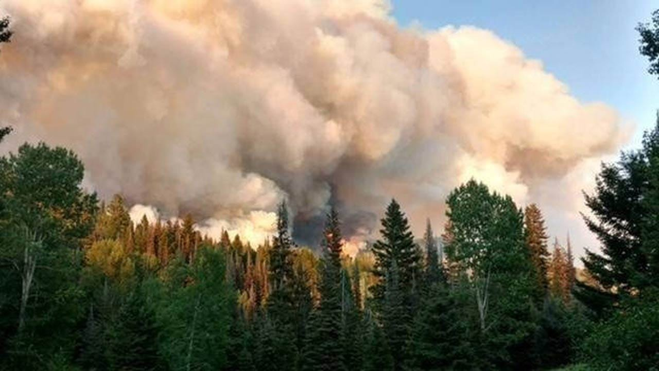 Costly Wildfires Scorch Parts Of Western U.S.