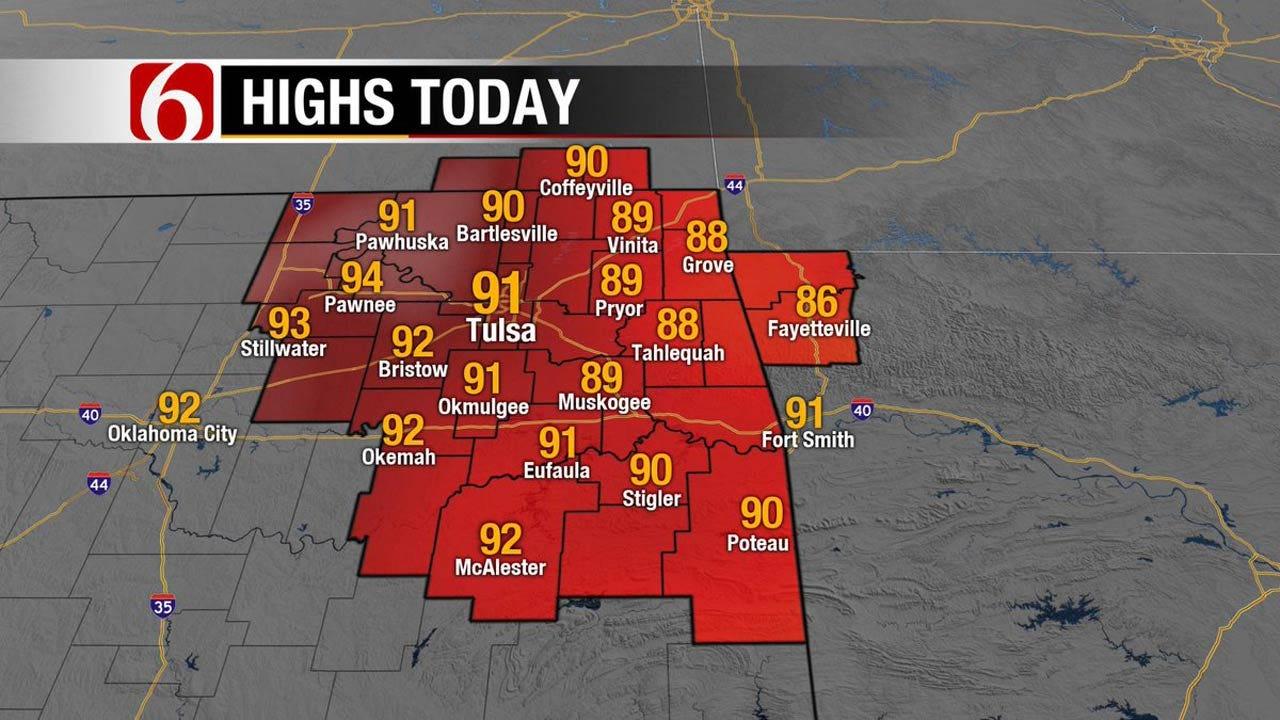 Eastern Oklahoma To See Warmer Temps Ahead