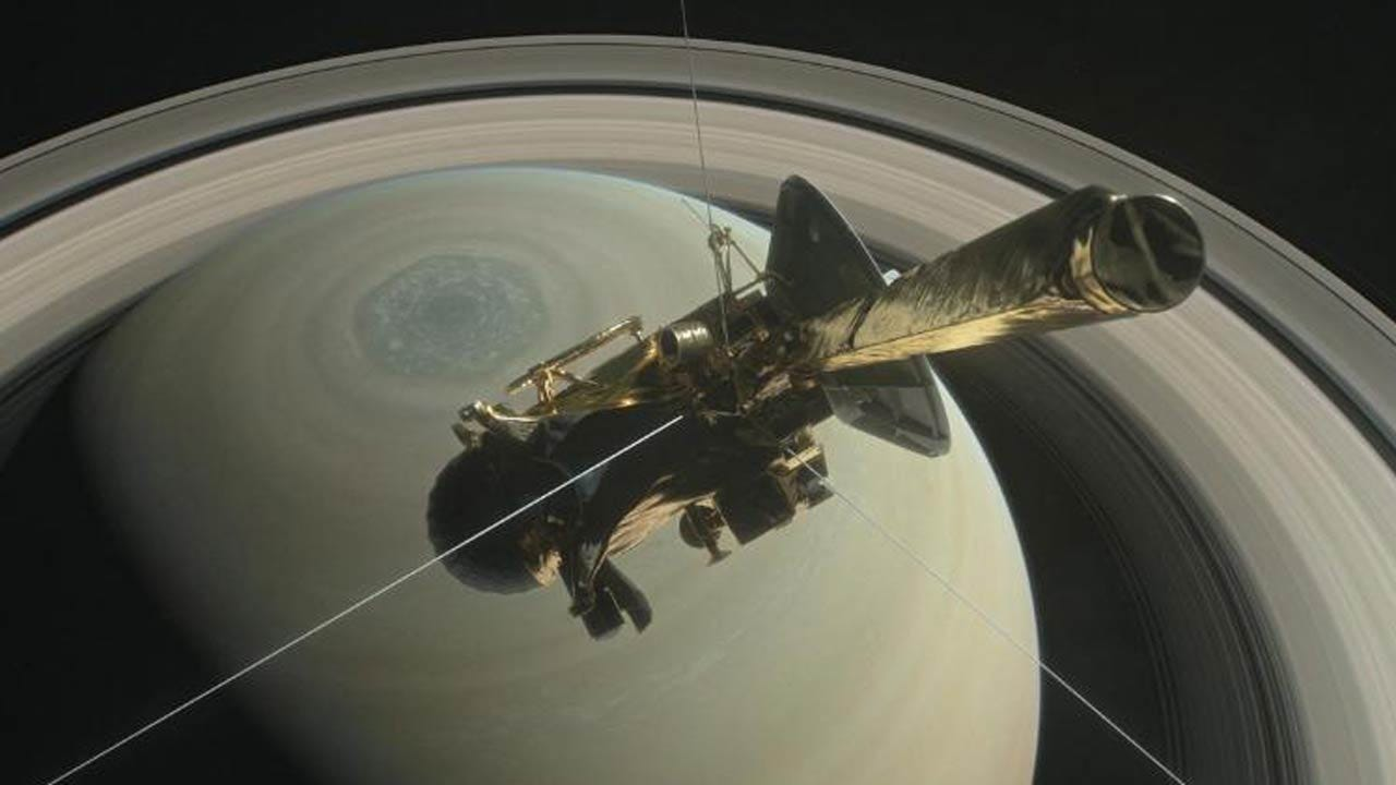 Cassini Probe Plunges Into Saturn, Ending Mission