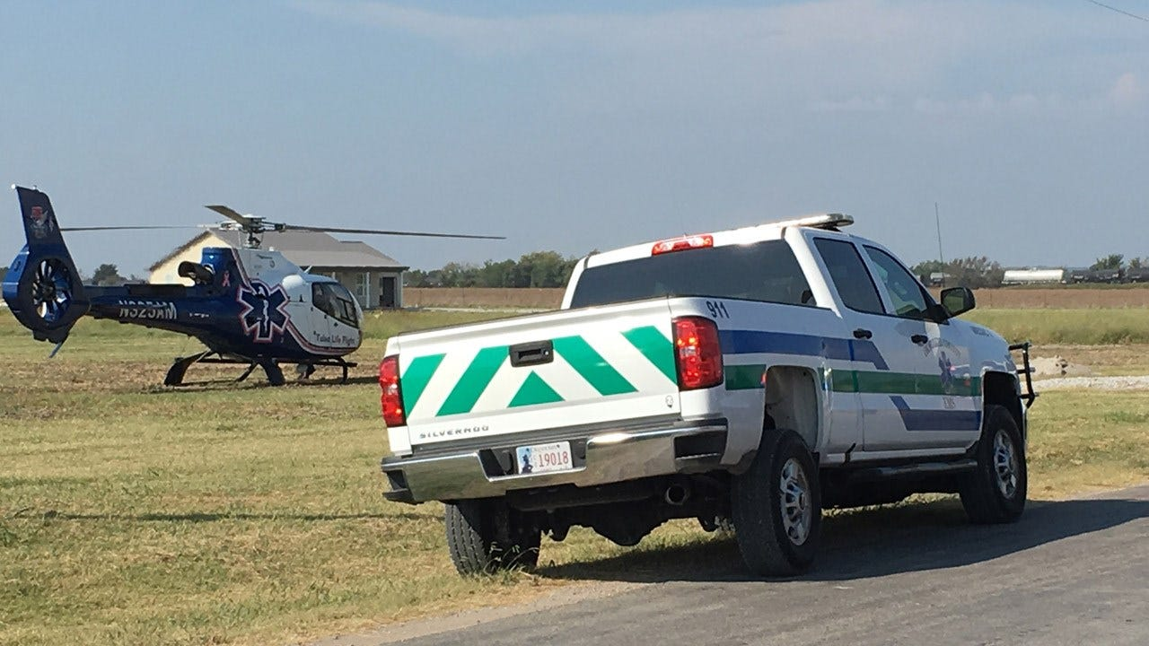 Man Gets Arm Stuck In Concrete Mixer In Okmulgee County