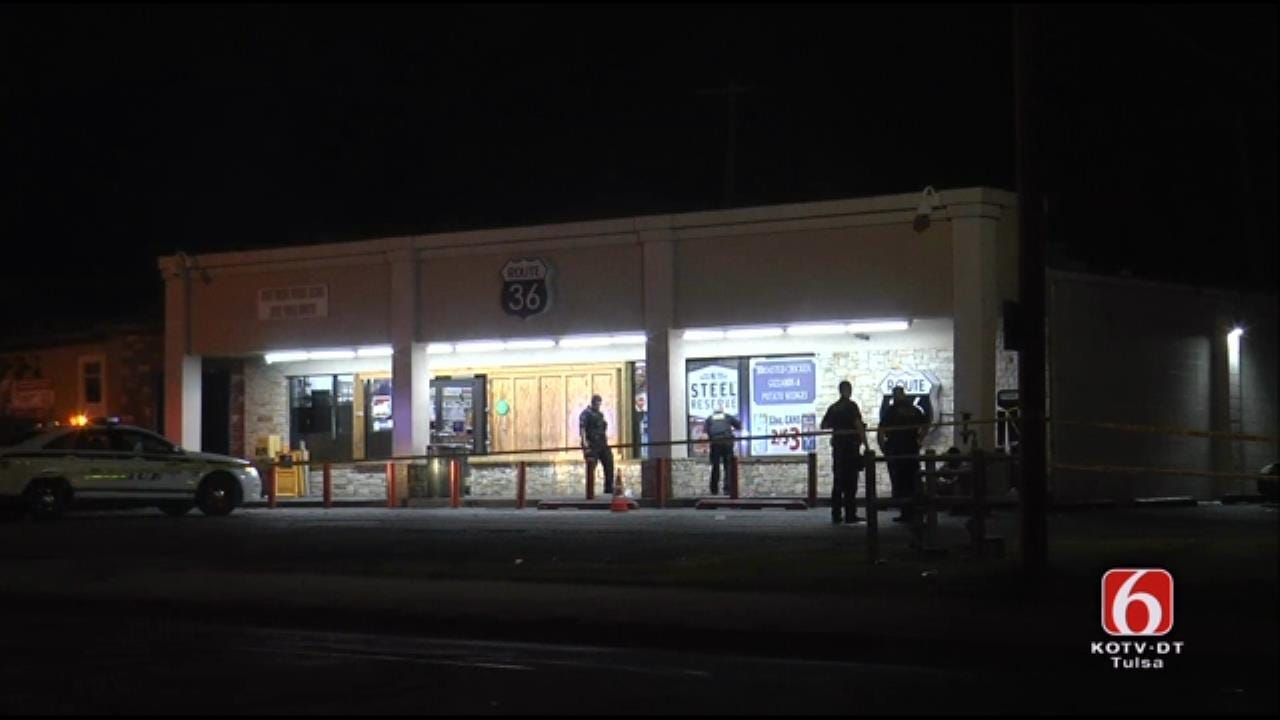 One Dead, One Critical After Double Shooting Outside Tulsa Store