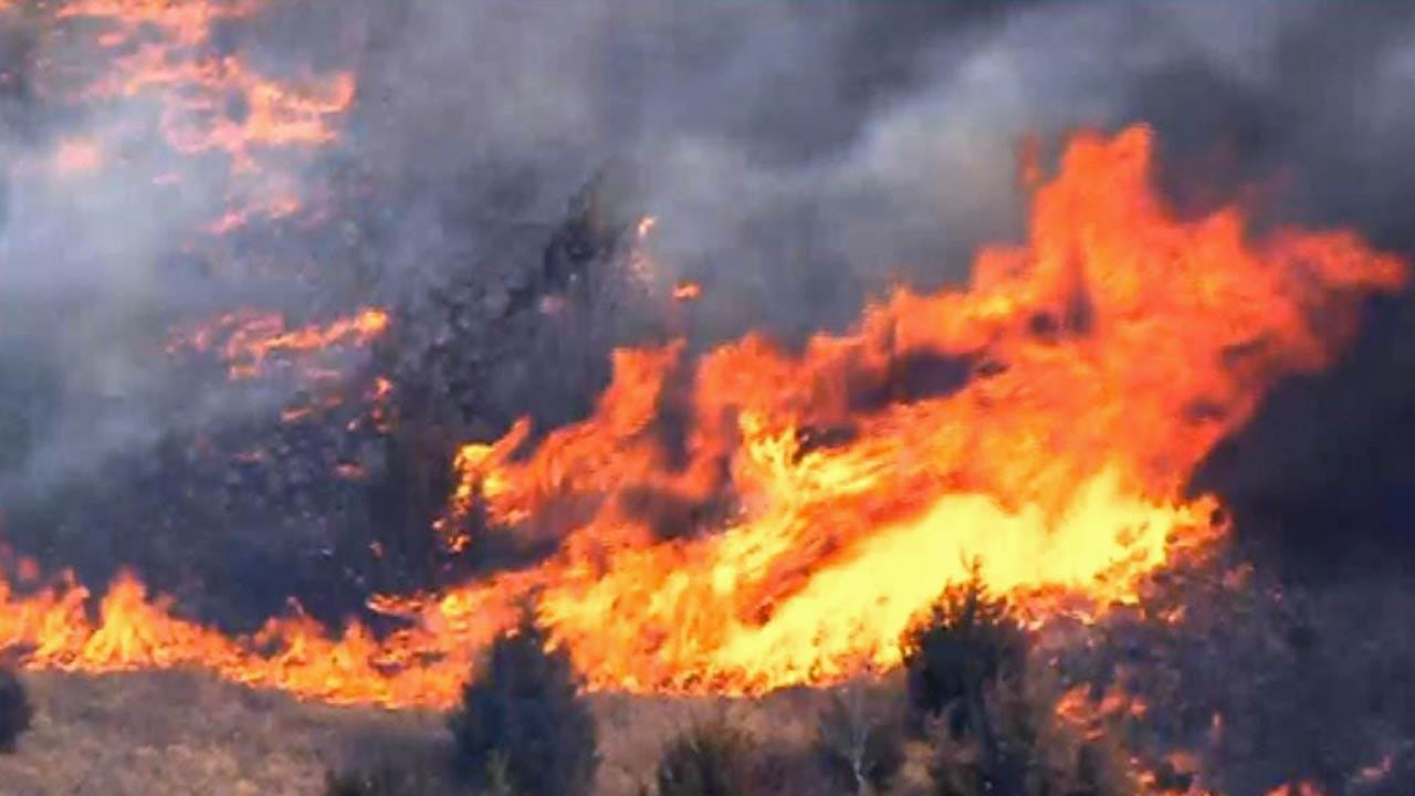 Risk Of Wildfires Across Northwest Oklahoma