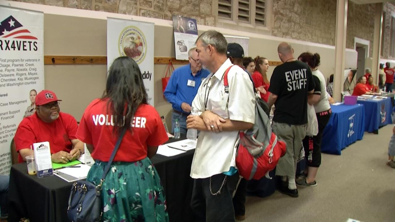 Event Reaches Out To Homeless Tulsa Vets