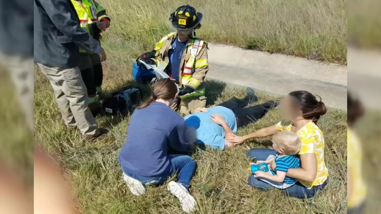 Good Samaritans Near Coweta Help Injured Truck Driver