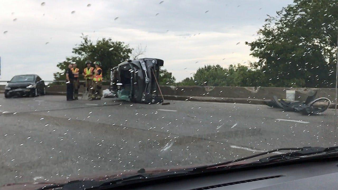 Multi-Vehicle Crash On BA Expressway Causes Slowdowns