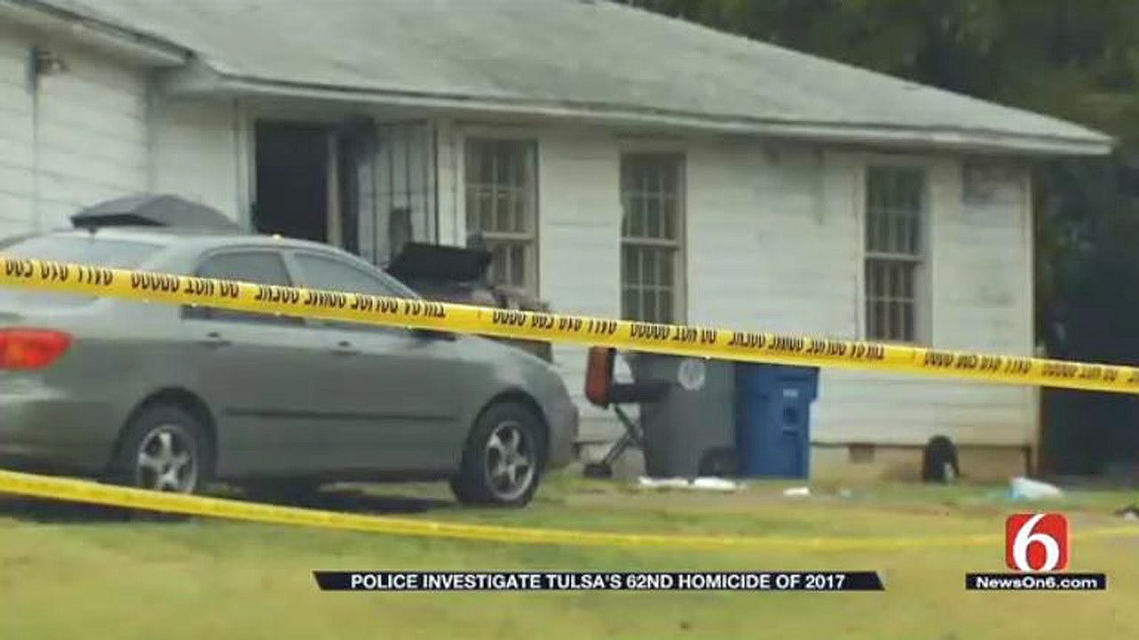 Suspect Captured In Tulsa's 62nd Homicide Of 2017