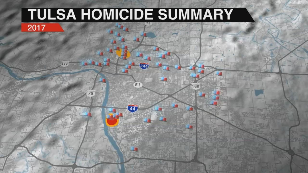 Tulsa Could Set New Record For Homicides If Pace Continues