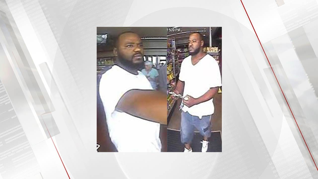 Tulsa Police Search For Person Of Interest In Multiple Gas Thefts