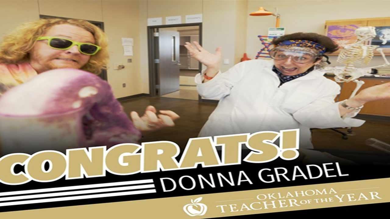 Broken Arrow Teacher Named 2018 OK Teacher Of The Year