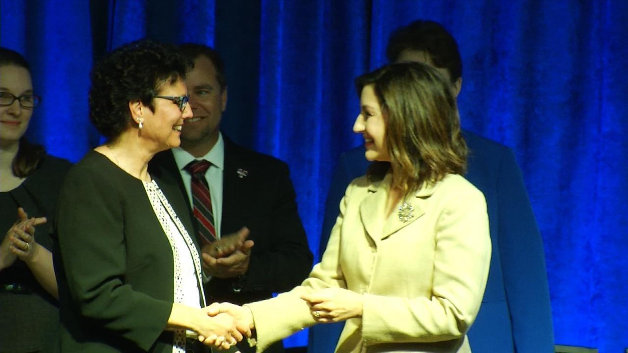 Broken Arrow Teacher Wins State's Top Honor