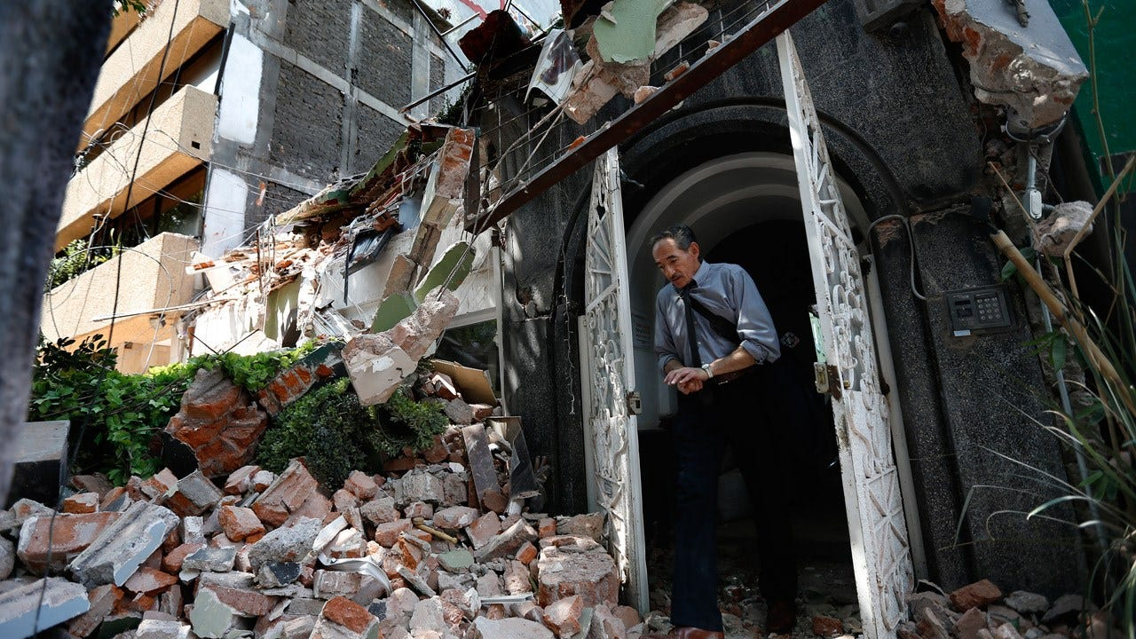 Death Toll From Mexico Earthquake Reaches 119