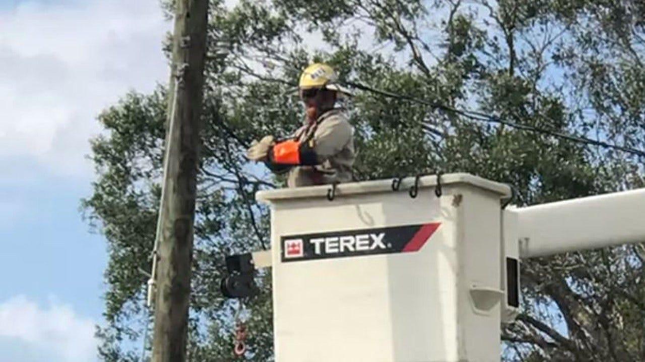 Edmond Utility Crew Helps Restore Power In Florida After Irma