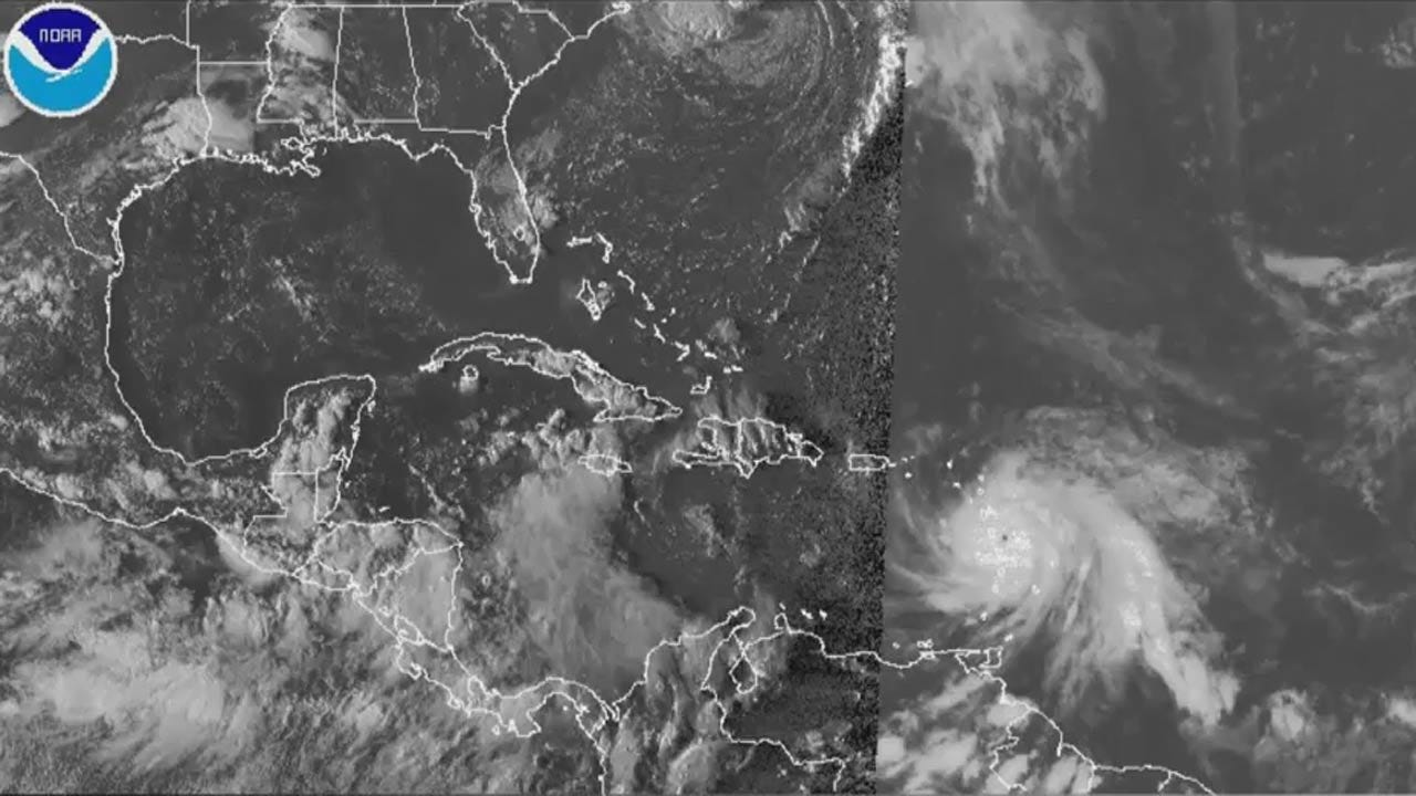 Hurricane Maria Pounds Dominica