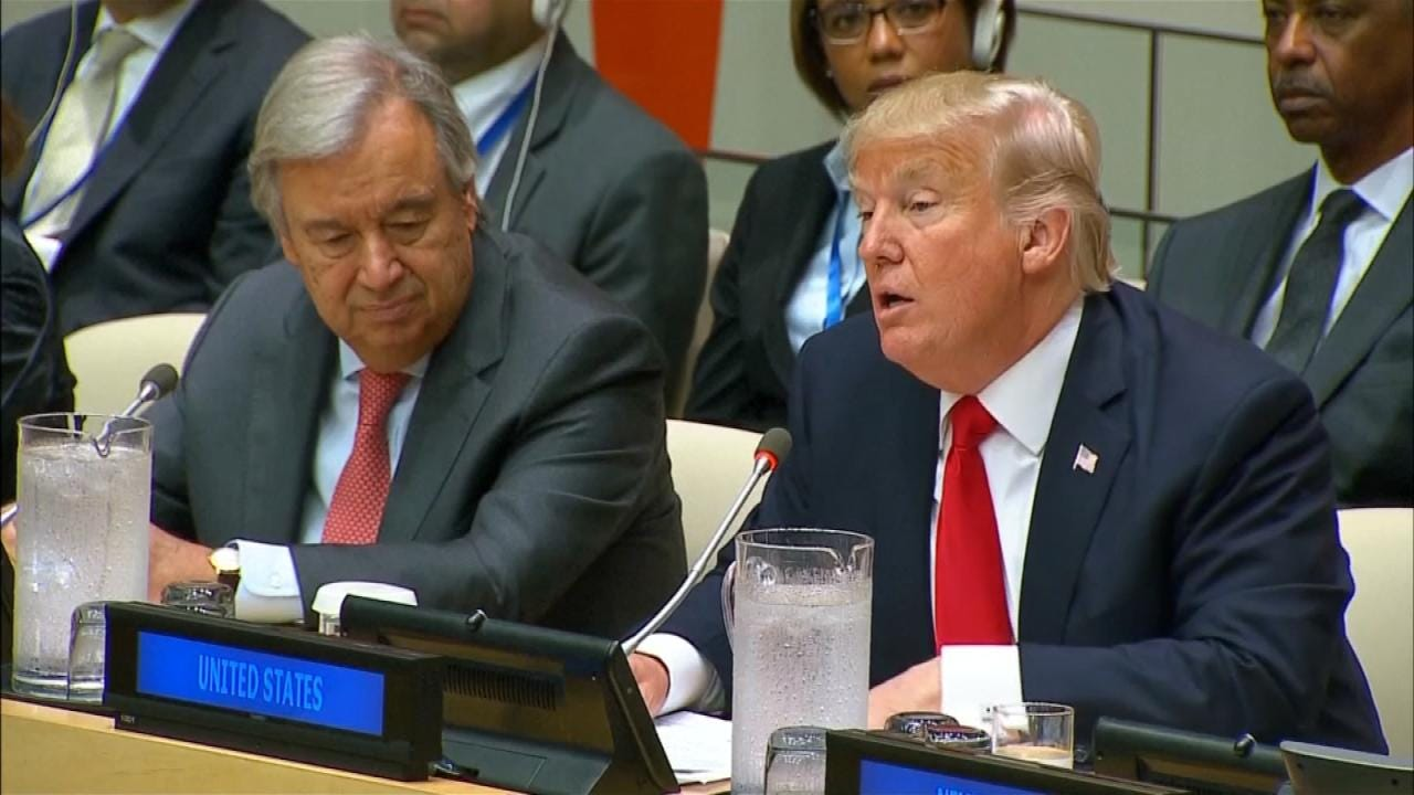 Trump To Address The United Nations General Assembly