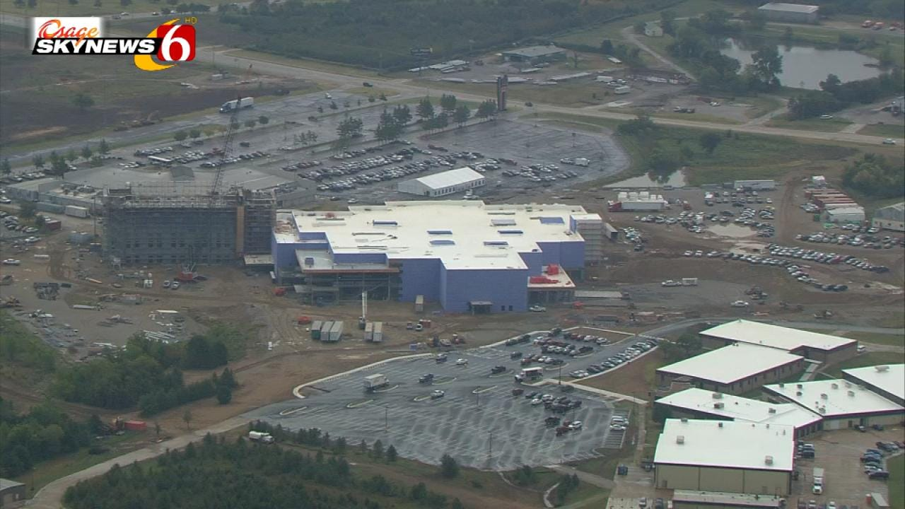 Tulsa's Osage Casino Holds Topping Off Ceremony