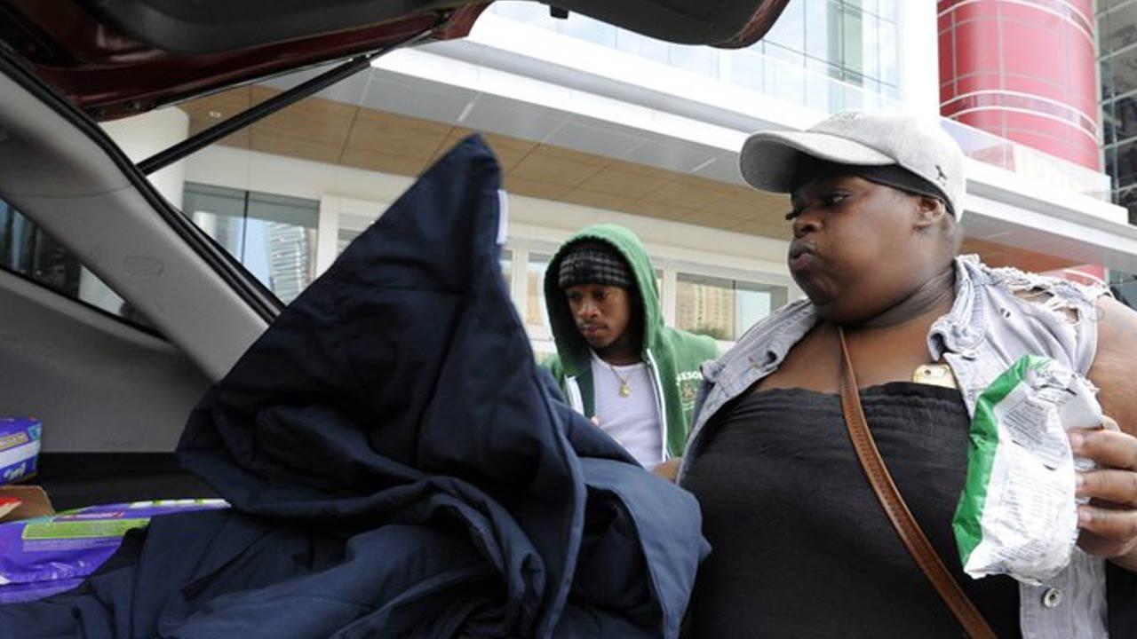 Danger Not Over: Gas Leaks, Mold Loom For Harvey Evacuees