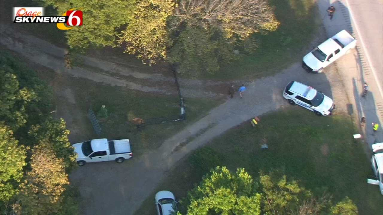 Body Found In Ditch Near Kellyville; OSBI Investigating