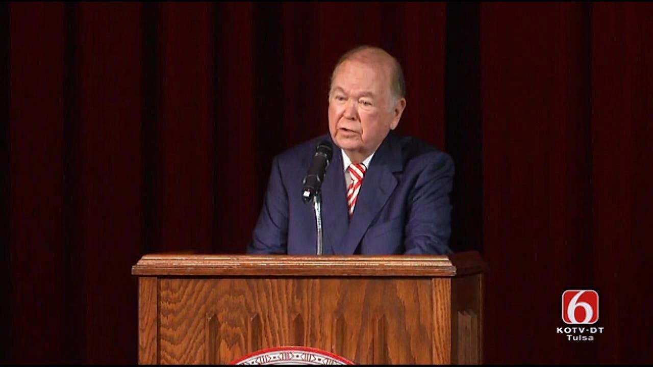 David Boren Announces Retirement As OU's President