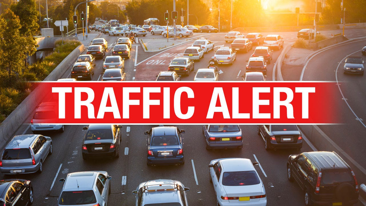 Highway 51 Lane Closure Begins