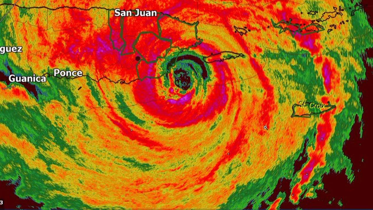 Hurricane Maria Makes Landfall At Puerto Rico
