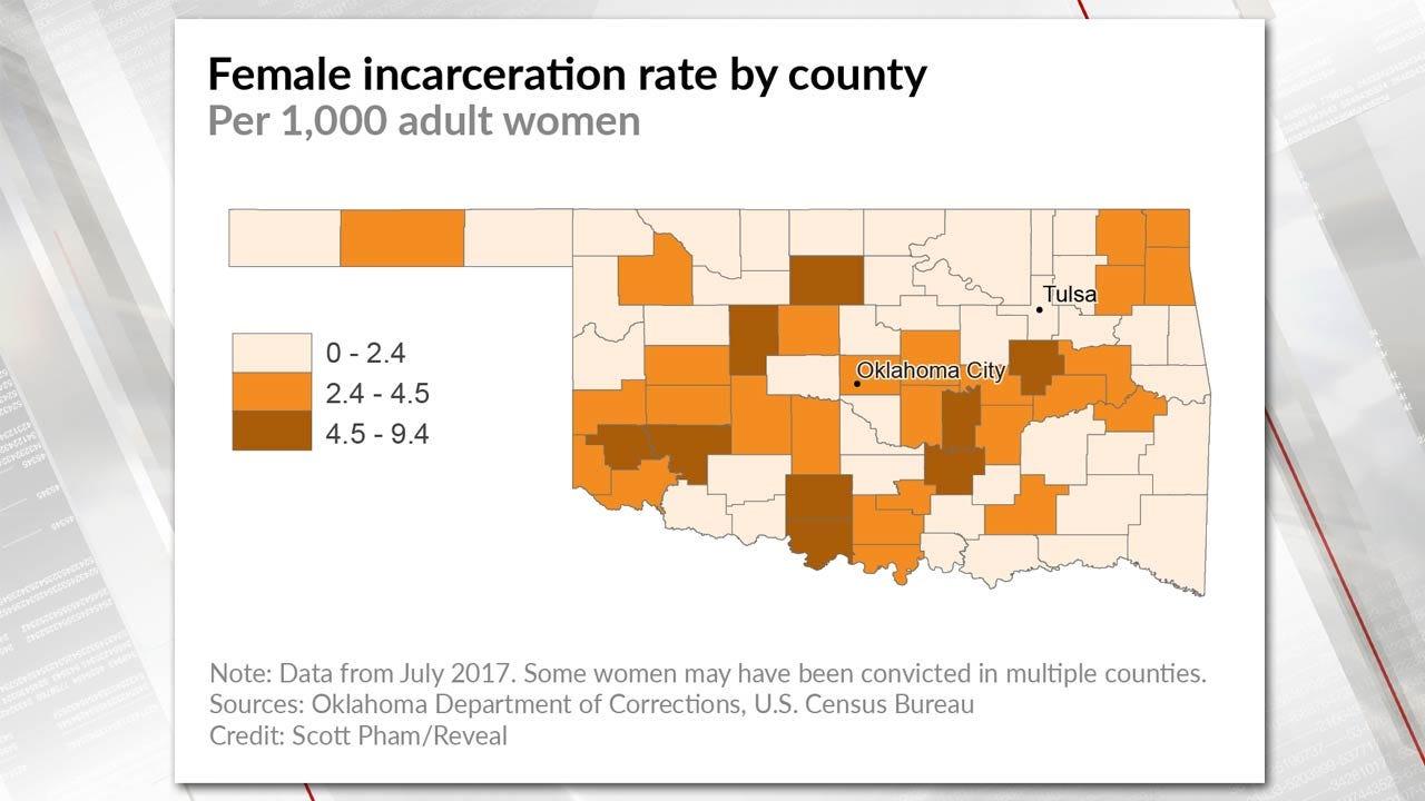 Locked Up: Why Oklahoma Imprisons So Many Women