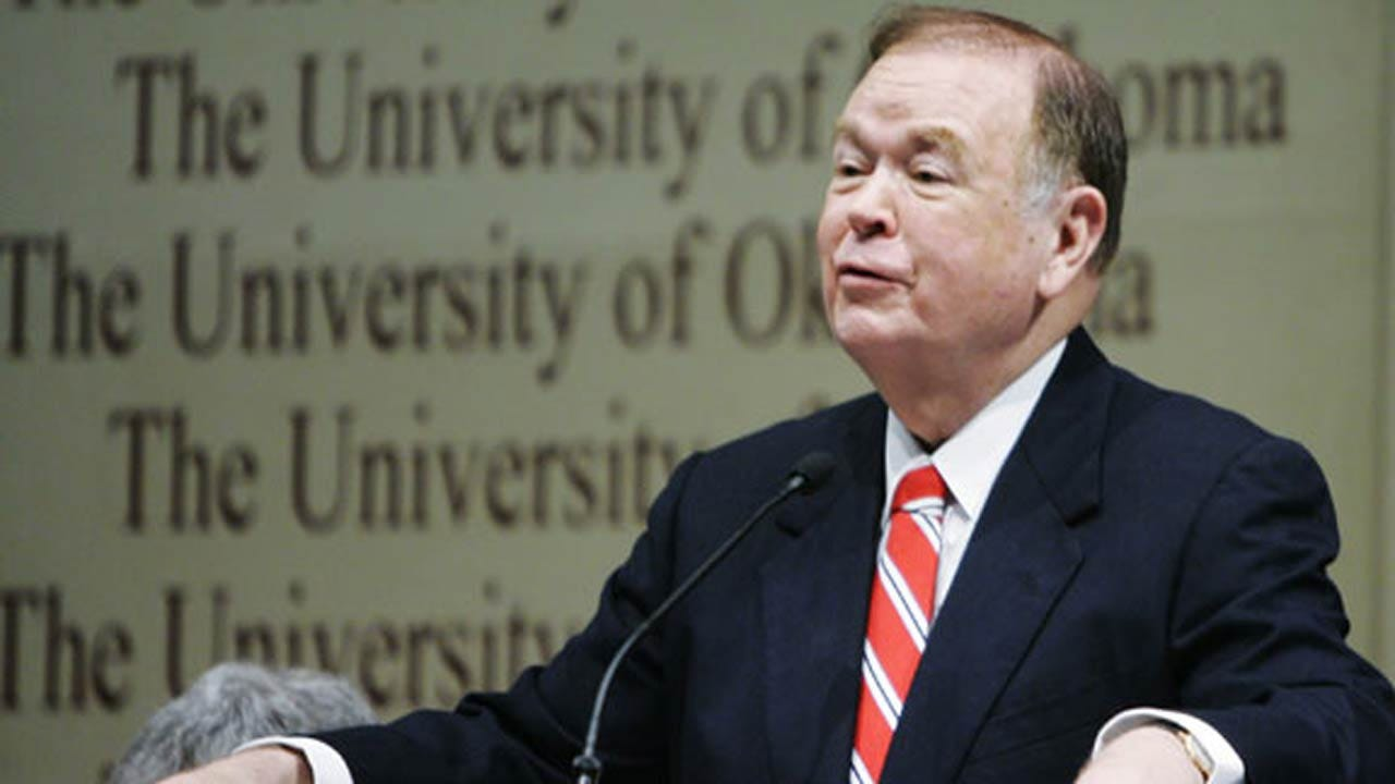 OU: Reports Of President Boren's Resignation Plans 'Inaccurate'