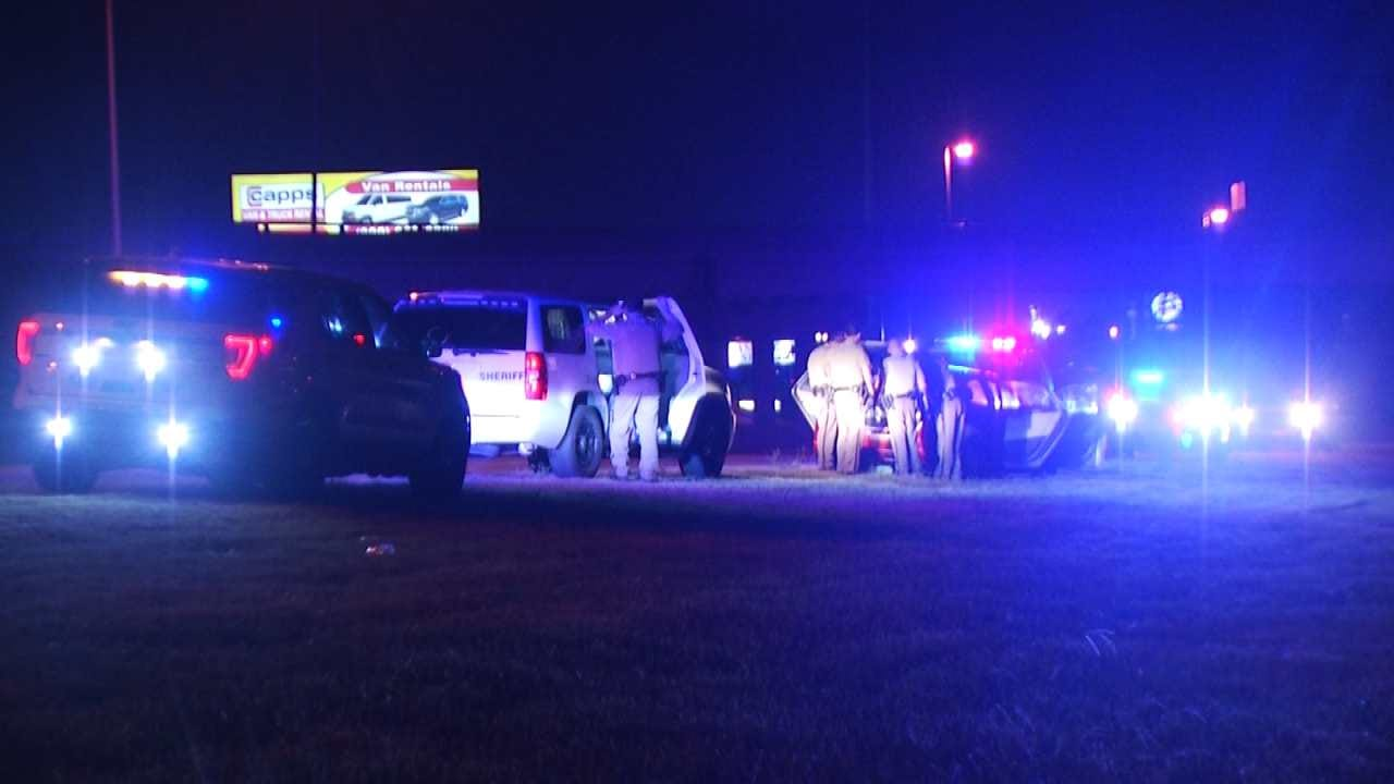 Deputies Use Stop Sticks To End High-Speed Tulsa County Chase