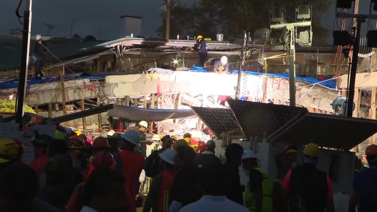 Mexico City Earthquake Death Toll Continues To Rise
