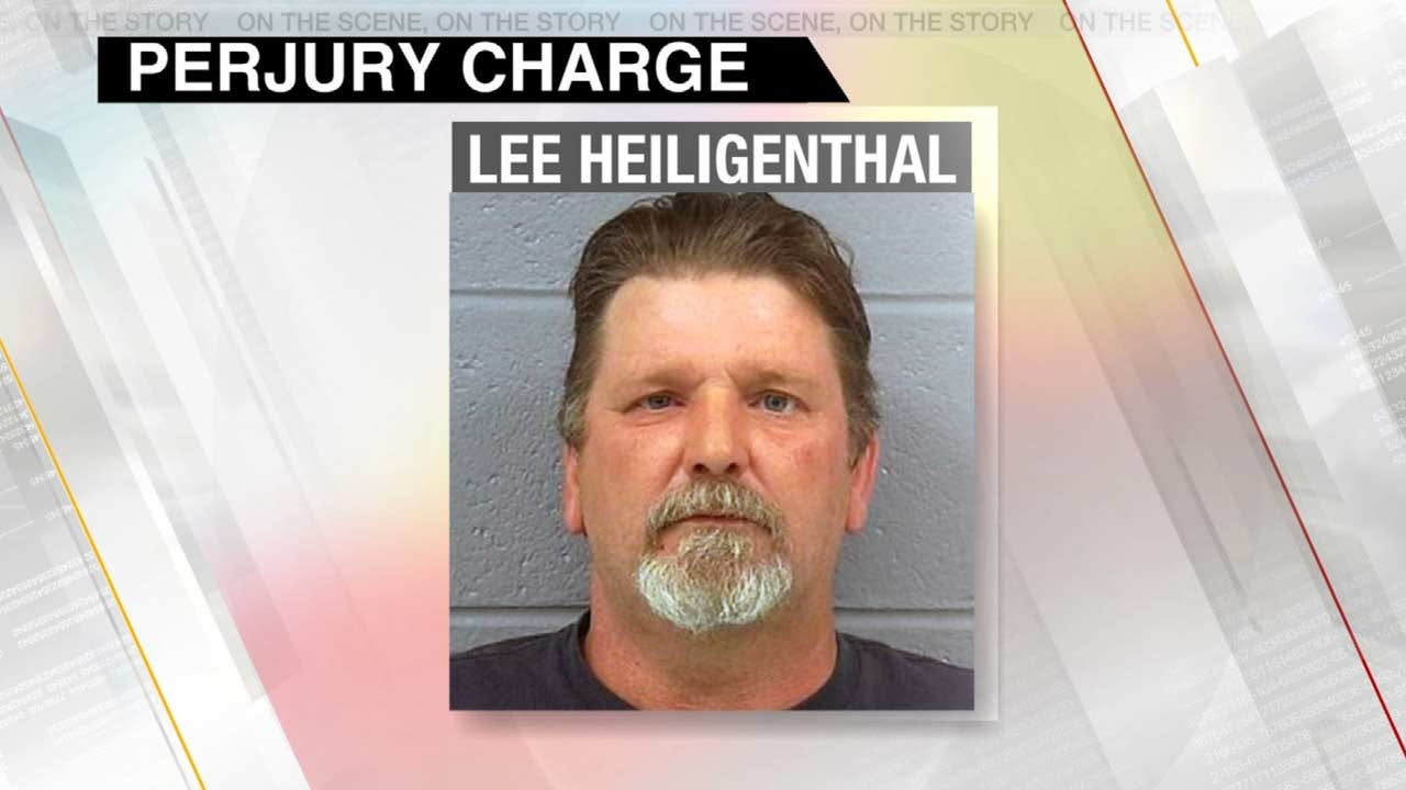 Rogers County Man Lied Under Oath About Wife's Death, Police Say