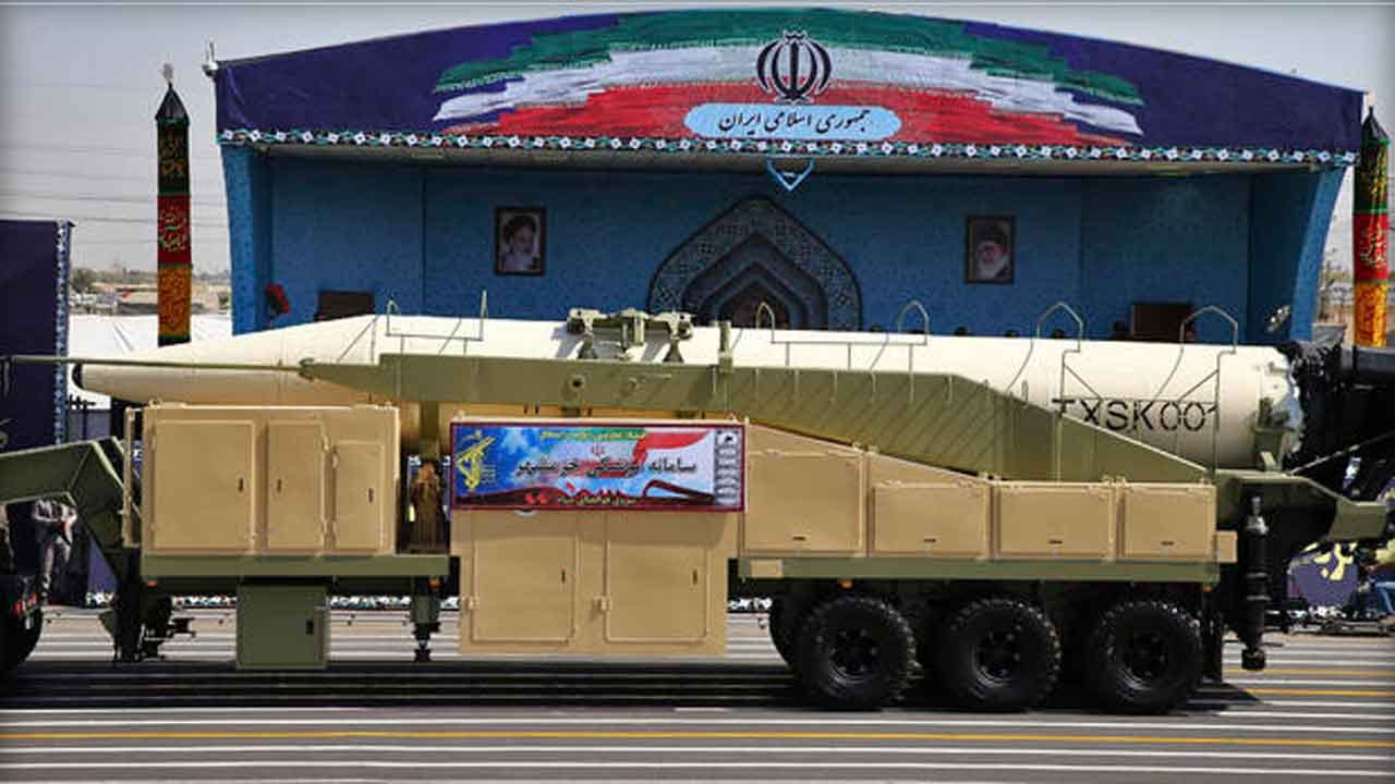 Iran Unveils Latest Ballistic Missile In Show Of Defiance To U.S.