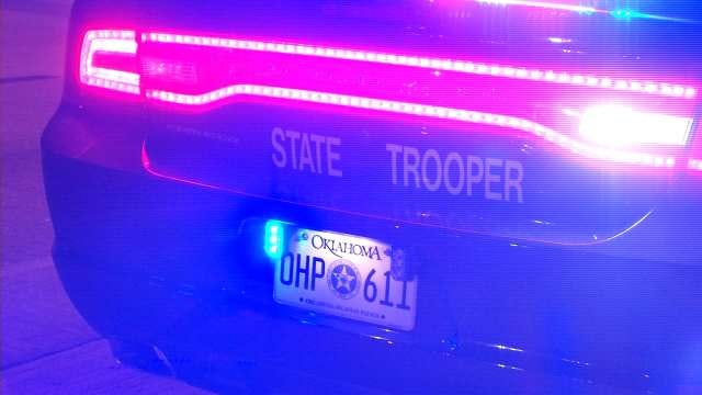 Driver Injured In Grady County Crash After Falling Asleep
