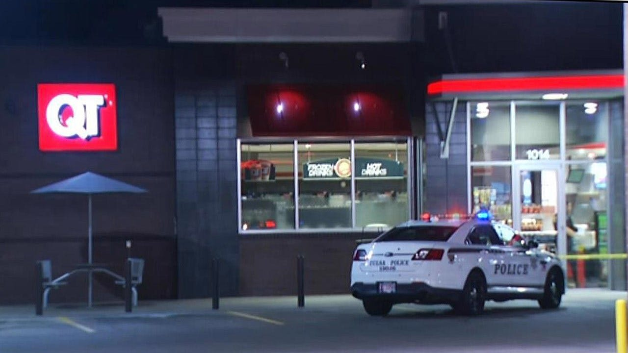 Police Investigate Robbery Of QuikTrip At 11th And Sheridan