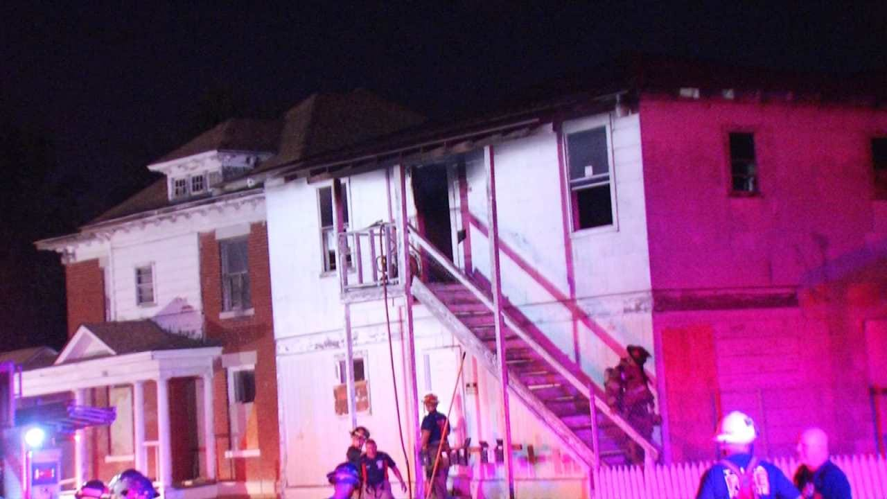 Tulsa Firefighters Quickly Put Out Fire At Vacant Building