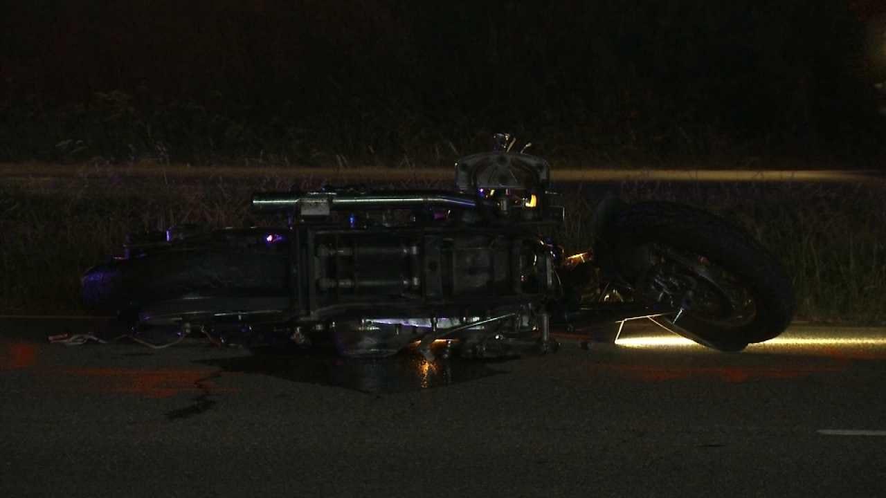 Sapulpa Woman Dies Following Motorcycle Crash
