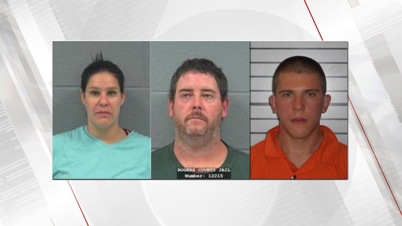 3 Accused Of Abusing 10-Year-Old Rogers County Boy