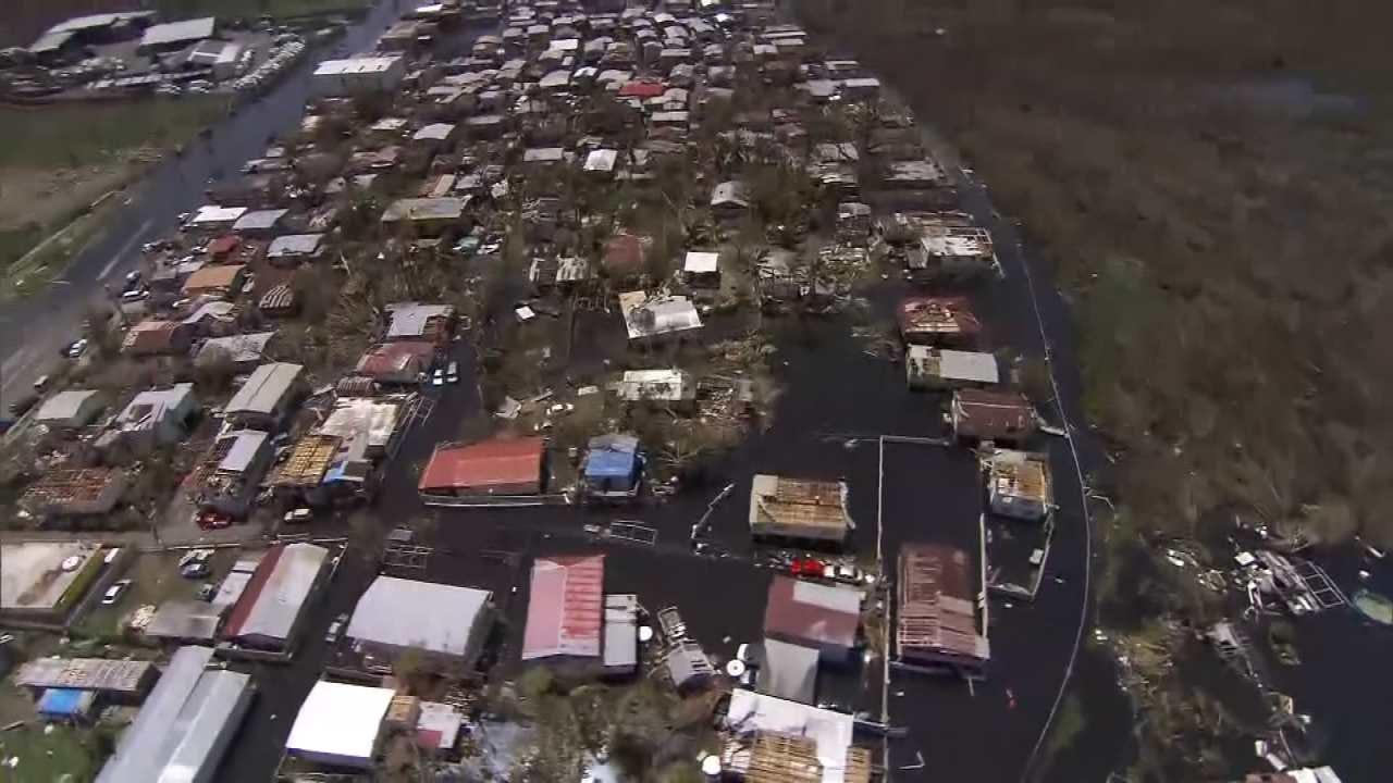 Humanitarian Crisis Unfolding in Puerto Rico