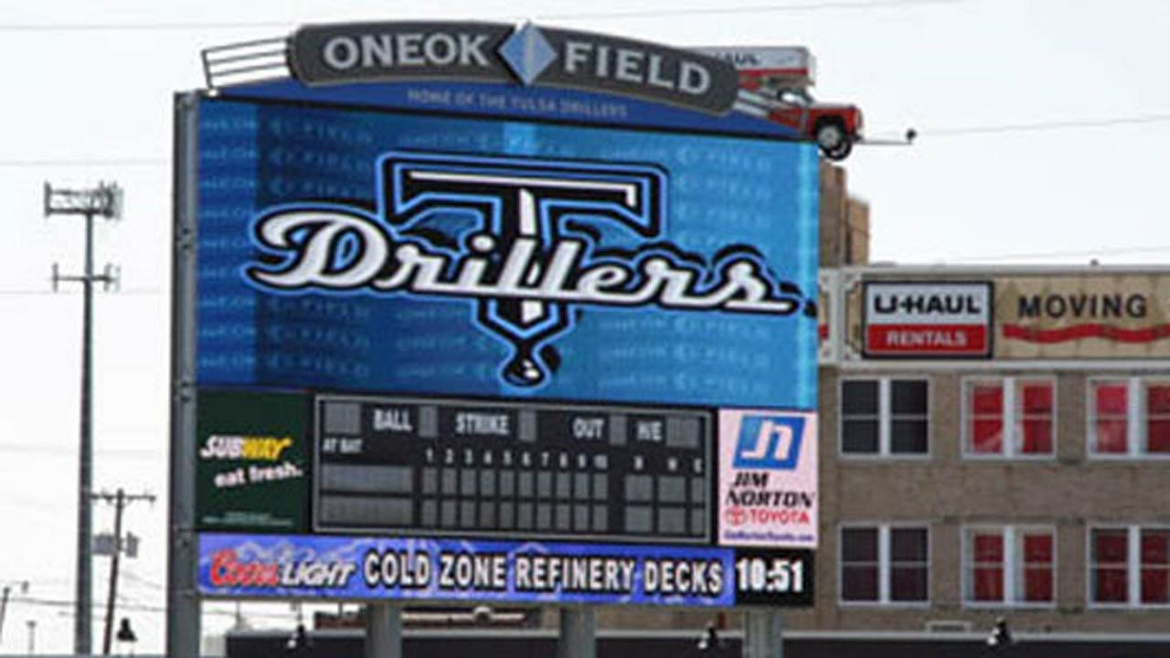Tulsa's ONEOK Field Sign Helps With Finding 5 Missing Children
