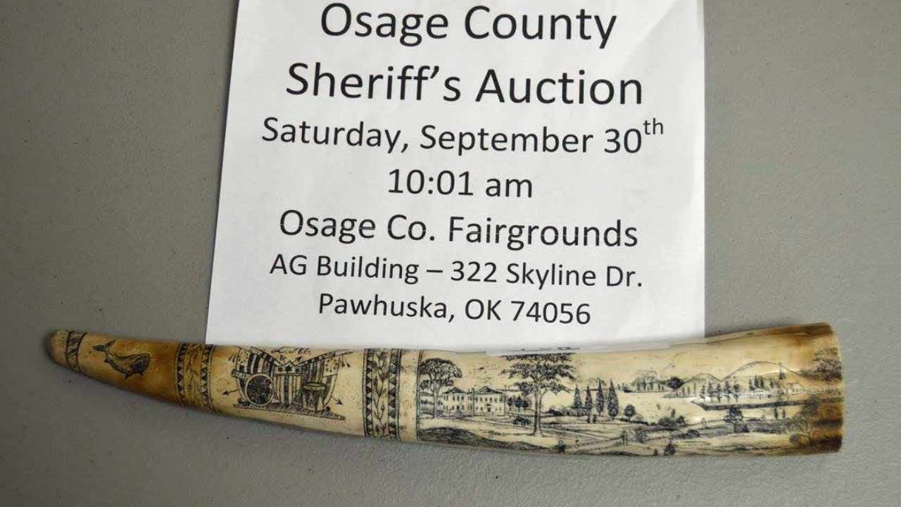 Osage County Sheriff's Auction Coming Up Saturday