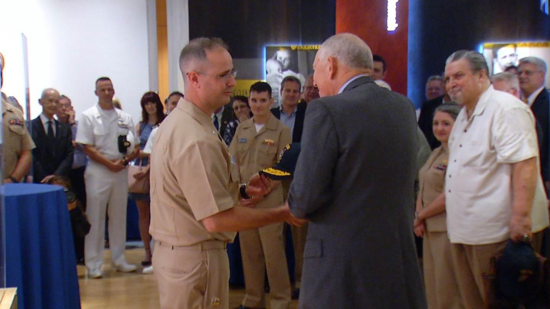 USS Tulsa Crew Visits T-Town